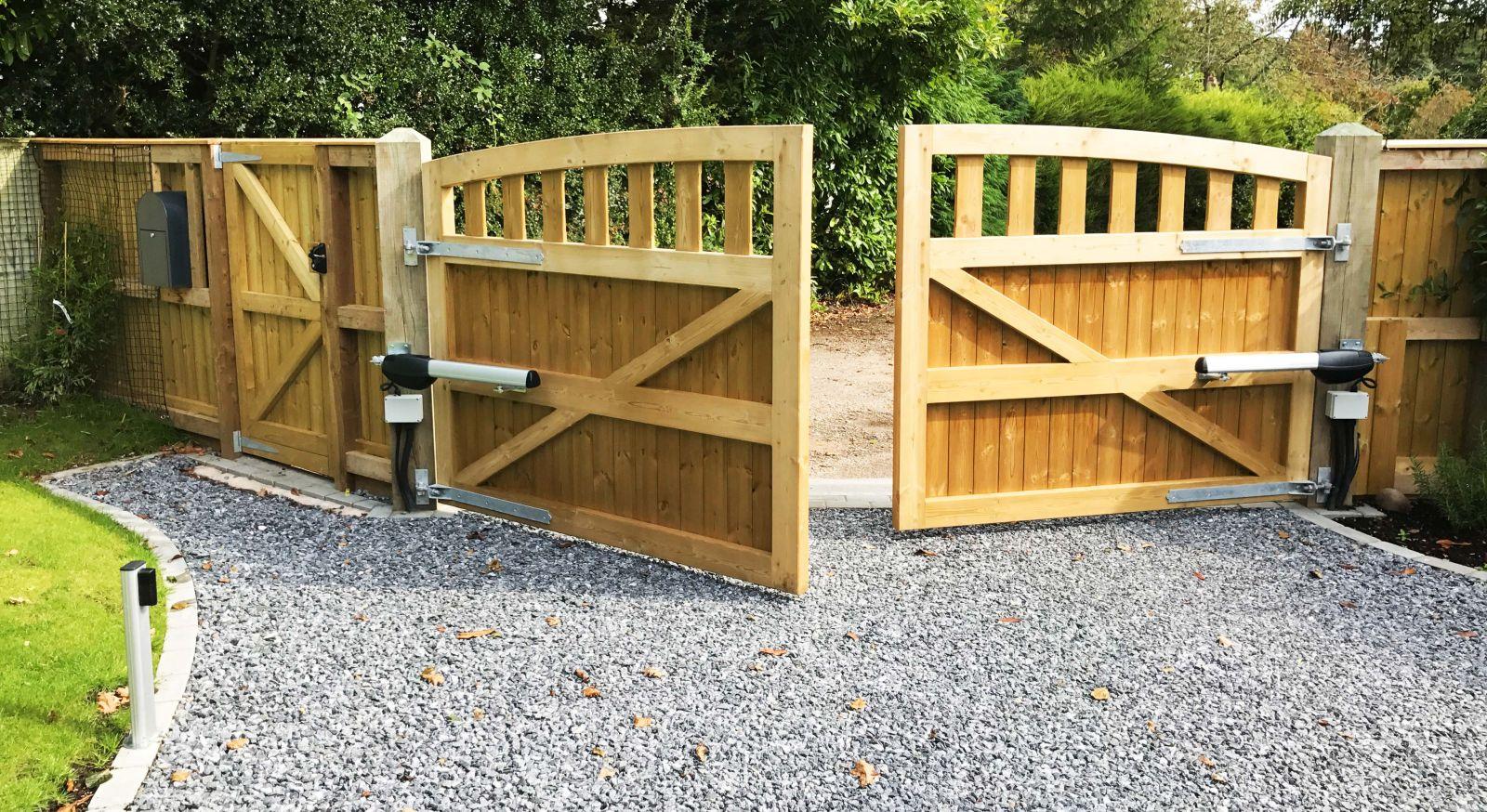 Twin Electric Sliding Gate Kits