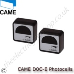 CAME DOC-E Safety Sensor. Pair of surface mounted safety sensors. Range up to 18 m.