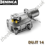 The Beninca DU.IT14 is a self locking, electro mechanical underground operator