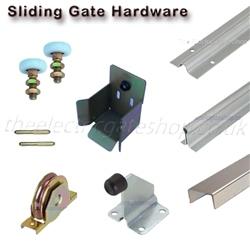Sliding gate hardware kits for Sliding driveway gate hardware