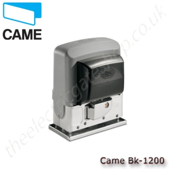Came bk 1200 motor for Electric gate motor installation