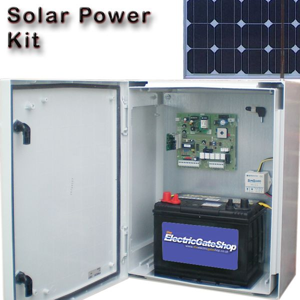 Solar Powered Gate Opener