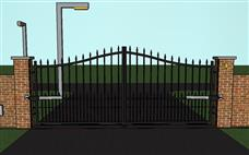 Pic electric gates aboveground