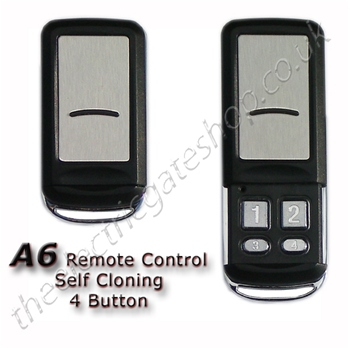 A6 Metal Finished Remote Control Self Learning 433mhz
