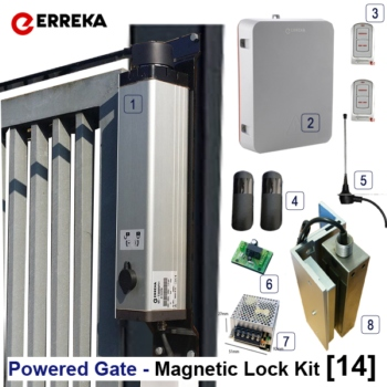 Powered Gate Magnetic Lock Kit [0]