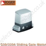 this is the roger technology g30/ 2204 2.2 ton sliding gate motor for industrial sliding gates.