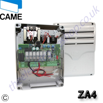 ZA4 za4 control board came barrier wiring diagram at fashall.co