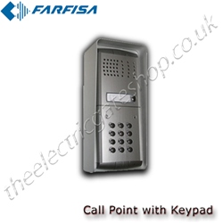 Farfisa Audio Callpoint with Keypad