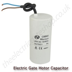 Gate Motor Run Capacitor