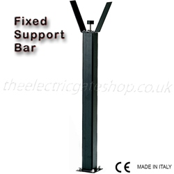 Parking Barrier Fixed Support Bar