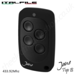 italfile jane remote made in italy. to copy numerous rolling code remote brands