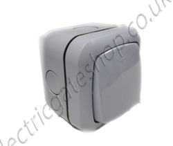 Wireless Push Button Or Wired Gate Entry Button Exterior