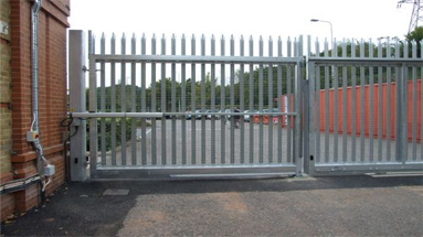 The Electric Gates Shop Industrial Electric Gates Systems
