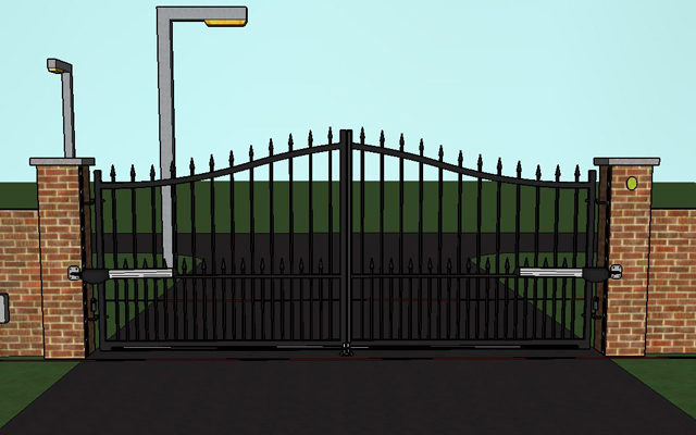 Electric Gates Electric Gate Kits From The Online