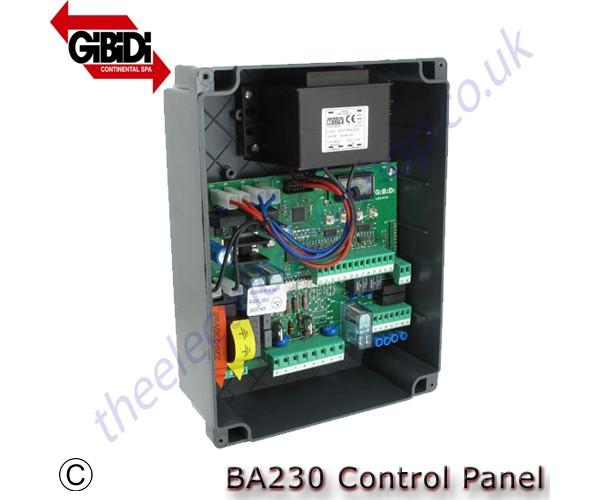 Gibidi Ba230 Lcd Control Panel 230v As05581