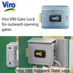 Viro V90 Electric Lock - for outward opening gates