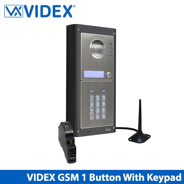 videx gsm pro 1 way gsm intercom including keypad