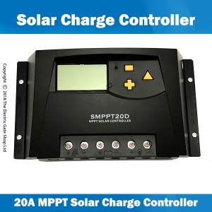 20a 12 & 24v mppt solar charge controller