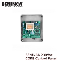 beninca 230vac core control panel