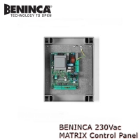 beninca 230vac matrix control panel