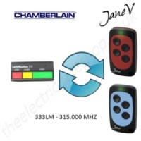 CHAMBERLAIN Gate Remote 315.000MHZ, Replaced by Jane V Multi-frequency Remote.