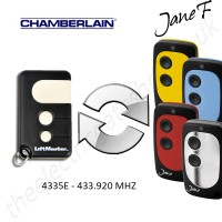 chamberlain gate remote 433.920mhz, replaced by jane f remote.