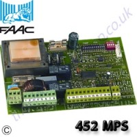 faac 452 mps control board including deceleration function.