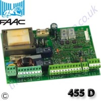 faac 455 d control board with signalling status board