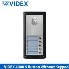 videx 4000 series 1 way intercom including keypad