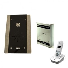 aes 603 flush mounted audio intercom