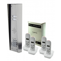 aes 703-hs4 - 4 way wireless audio intercom