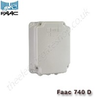 faac 740d / 740 d control panel with many integrated function logics