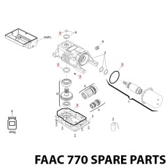 faac 391 spare parts