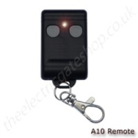 2 button 433mhz fixed code dipswitch gate remote
