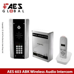 wireless doorphone intercom for single property. with keypad.