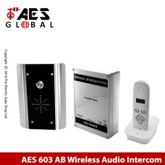 wireless doorphone intercom for single property. no keypad.