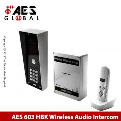 wireless doorphone intercom for single property. with keypad. hooded rain cover.