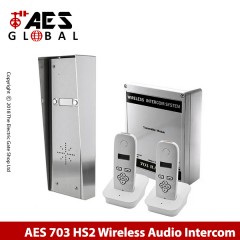 aes 703-hs2 - 2 way wireless audio intercom
