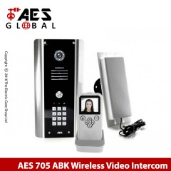 wireless video doorphone intercom for single property. with keypad.