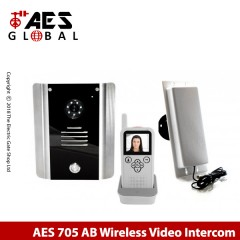 aes 705abk wireless video intercom