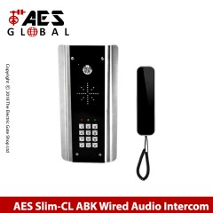 aes slim-cl-ab wired audio intercom system