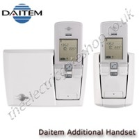 additional handset for daitem wireless door phone systems.