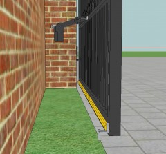 the technostop slim resistive safety edge features easy length adjustment, a slim profile, ip66 and sensitive switches this edge is ideal for most gate types.  it is also used for hinge protection.