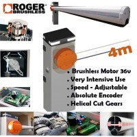 super intensive brushless barrier from roger technology with a 24/7 duty cycle