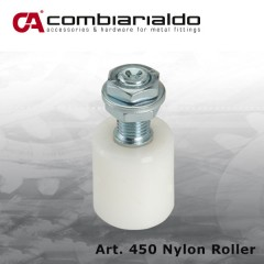 nylon roller 40mm dia x 45 for holding bow top gates