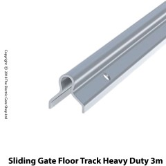 a galvanised easy to fit 3m length of floor track. dia. 20mm fits all rollers 80 - 150mm.