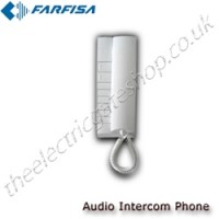 additional intercom telephone call point for farfisa audio intercoms.