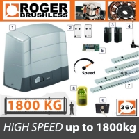 roger brushless bh30/1803 hs brushless high speed intensive 1800kg