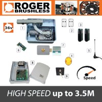 roger brushless - br21/351/hs 36v high speed single kit