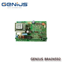 genius brain592 230vac control panel